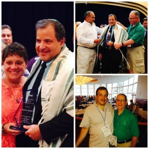 Mazel Tov, Warren Sufrin on receiving the FJMC's Maasim Tovim (Doer of Good Deeds) Award!